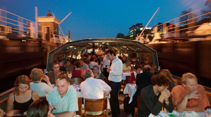 Rondvaart boottocht in Amsterdam